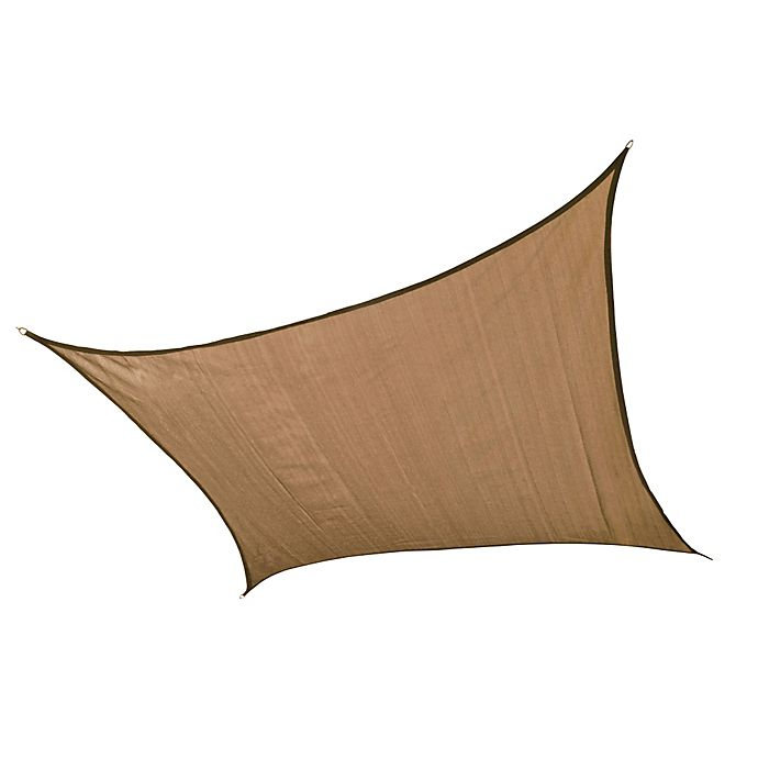 Alternate image 1 for ShelterLogic® Square Sun Shade Sails in Sand