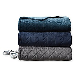 Beautyrest® Pinsonic Microlight Heated Quilt