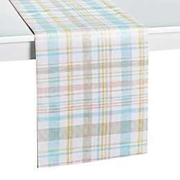 Spring Medley Plaid Table Runner
