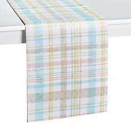 Spring Medley Plaid 72-Inch Table Runner