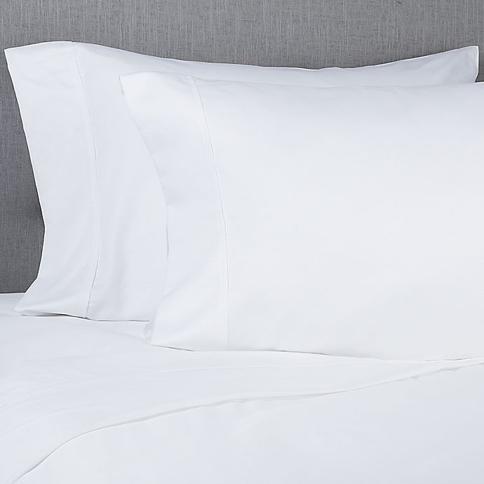 Alternate image 1 for Cooling Comfort® 1000-Thread-Count Queen Sheet Set in White