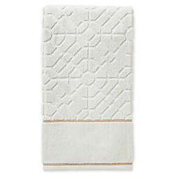 Vern Yip by SKL Home Bamboo Lattice Bath Towel in Natural