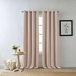 Bee & Willow™ Home Hadley 63-Inch Grommet 100% Blackout Window Panel in Pink
