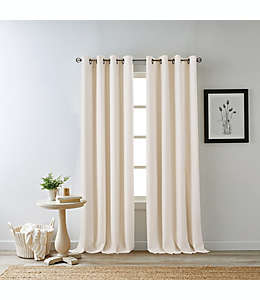 Cortina 100% blackout Bee & Willow™ Home Hadley color marfil