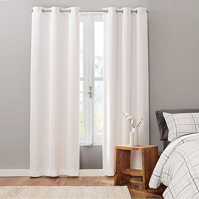 Alternate image 1 for UGG® Cori 2-Pack Grommet 100% Blackout Window Curtain Panels