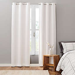 UGG® Cori 2-Pack 63-Inch Grommet 100% Blackout Corduroy Window Curtain Panels in Snow