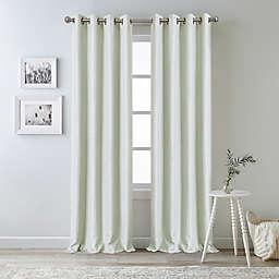 Bee & Willow™ Oakdale 95-Inch Grommet 100% Blackout Window Curtain Panel in Green