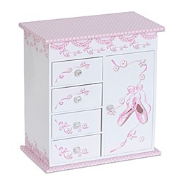 Mele & Co. Cristiana Musical Ballerina Jewelry Box