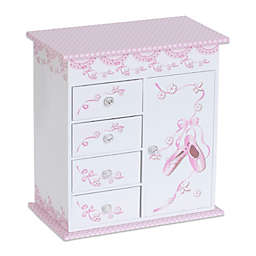 Mele & Co. Cristiana Musical Ballerina Jewelry Box