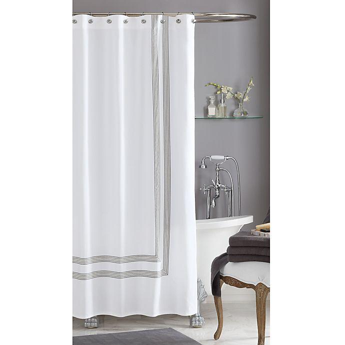 Alternate image 1 for Wamsutta® Bourbon Hotel Shower Curtain