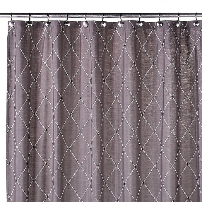 Wellington 70 Inch W X 72 L Shower Curtain In Grey