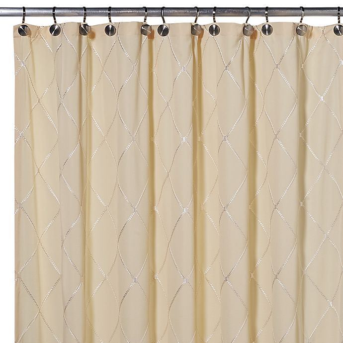 Alternate image 1 for Wellington 70-Inch x 72-Inch Shower Curtain in Yellow