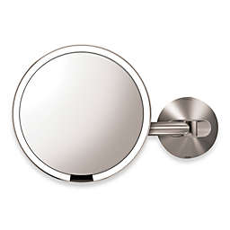 simplehuman® 5X Sensor Wall-Mounted Mirror