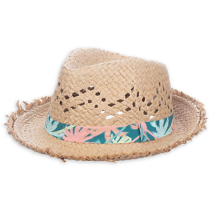 Alternate image 1 for Nolan Originals Tropical Straw Hat in Natural