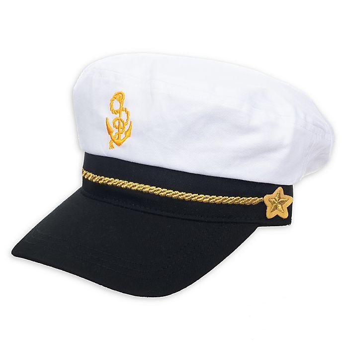 Alternate image 1 for Nolan Originals Captain Hat in White/Navy