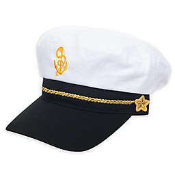 Nolan Originals Captain Hat in White/Navy