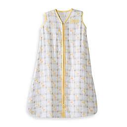 HALO® SleepSack® WearableCotton MuslinBlanket in Yellow Giraffe