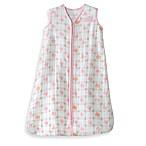 HALO® SleepSack® Size Medium Cotton MuslinWearable Blanket in Pink Elephant