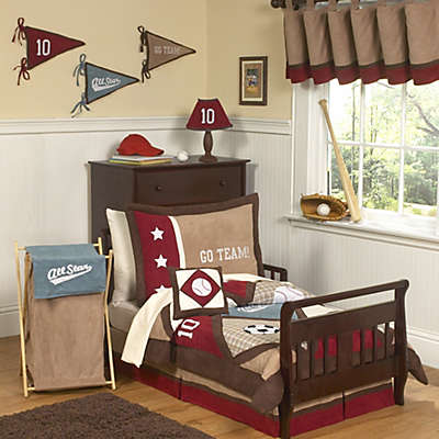 Sweet Jojo Designs All Star Sports Toddler Bedding Collection
