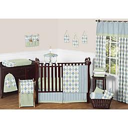 Sweet Jojo Designs Argyle Crib Bedding Collection