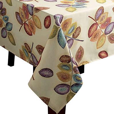 Croscill® Mosaic Leaves Tablecloth