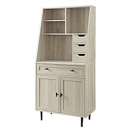 Forest Gate 64-Inch Storage Desk & Hutch