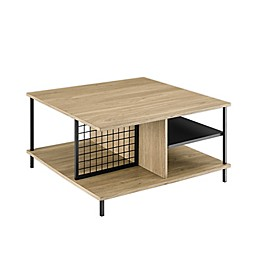 Forest Gate Modern Square Coffee Table