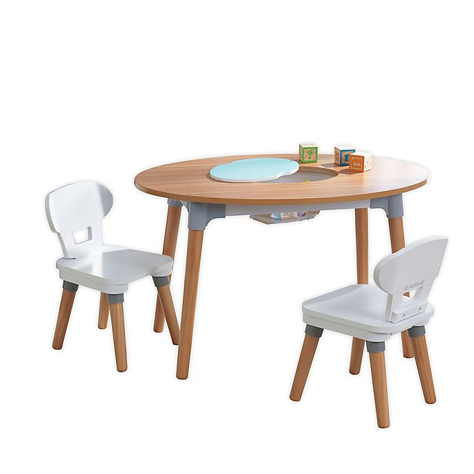 Kidkraft Mid Century Kid Toddler Table 2 Chair Set Bed Bath Beyond