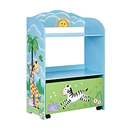 Fantasy Fields Sunny Safari Toy Organizer in Blue