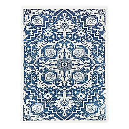 Hearthstone Amity 7'10 x 10' Area Rug in Navy