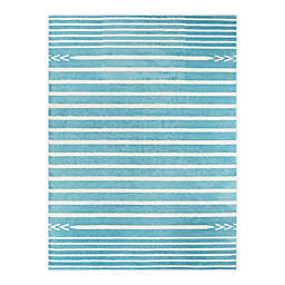 Hearthstone Cameron 7'10 x 10' Area Rug in Teal