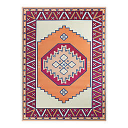 Hearthstone Candelas 7'10 x 10' Area Rug in Red