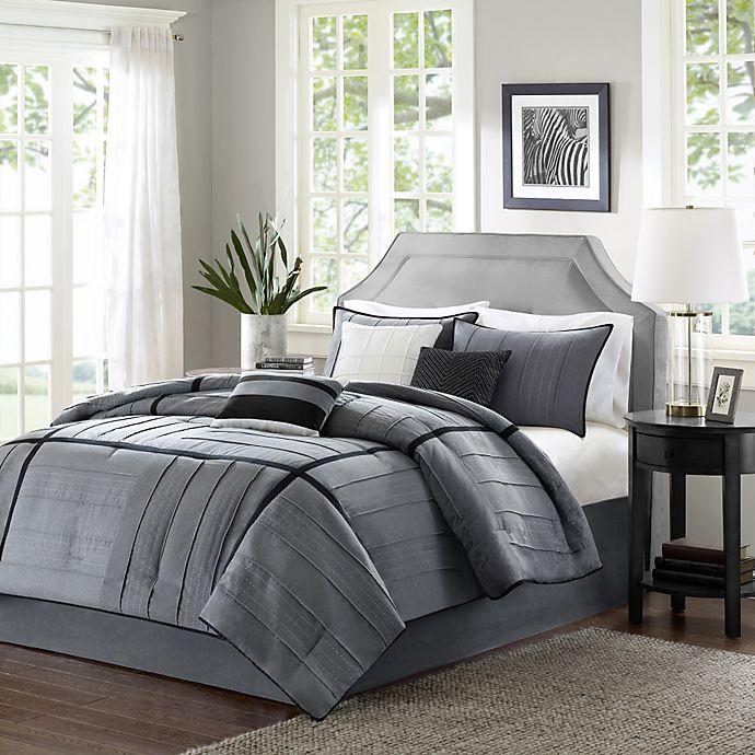 Alternate image 1 for Madison Park Bridgeport Collection 7-Piece King Comforter Set