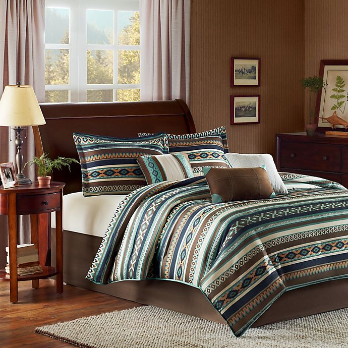 Alternate image 1 for Madison Park Malone 7-Piece California King Comforter Set