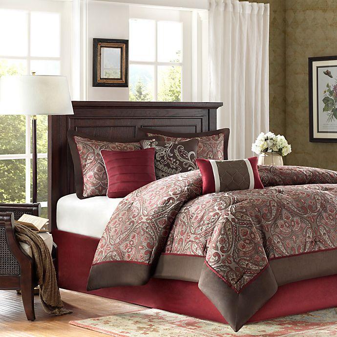 Alternate image 1 for Madison Park Talbot 7-Piece Queen Comforter Set