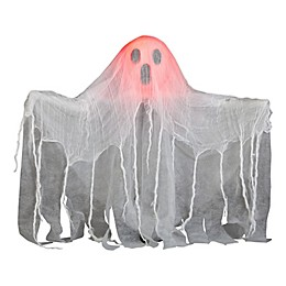 Animated Pop-Up Ghost Halloween Decoration in White