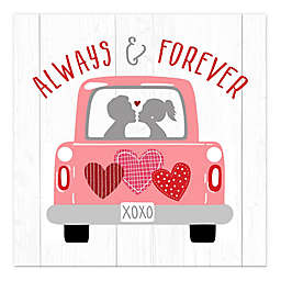 Always and Forever Truck 12x12 Canvas