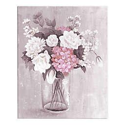Romantic Floral Bouquet 16x20 Canvas
