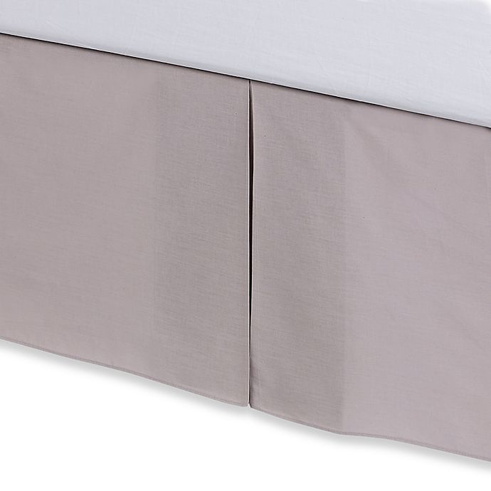 Alternate image 1 for Real Simple® Camille Bed Skirt