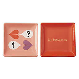 "kate spade new york Sweet Talk™ ""Just Between Us"" Trinket Dishes (Set of 2)"
