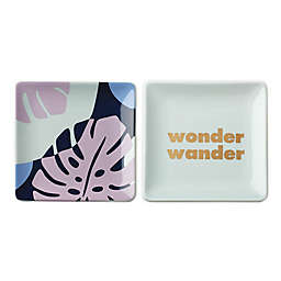 "kate spade new york Sweet Talk™ ""Wonder Wander"" Trinket Dishes (Set of 2)"