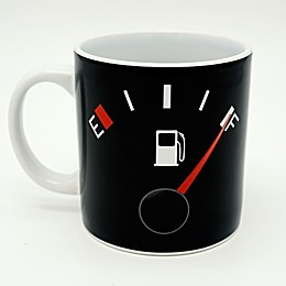 Gas Gage Coffee Mug in Black