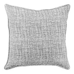 Applique Square Throw Pillow