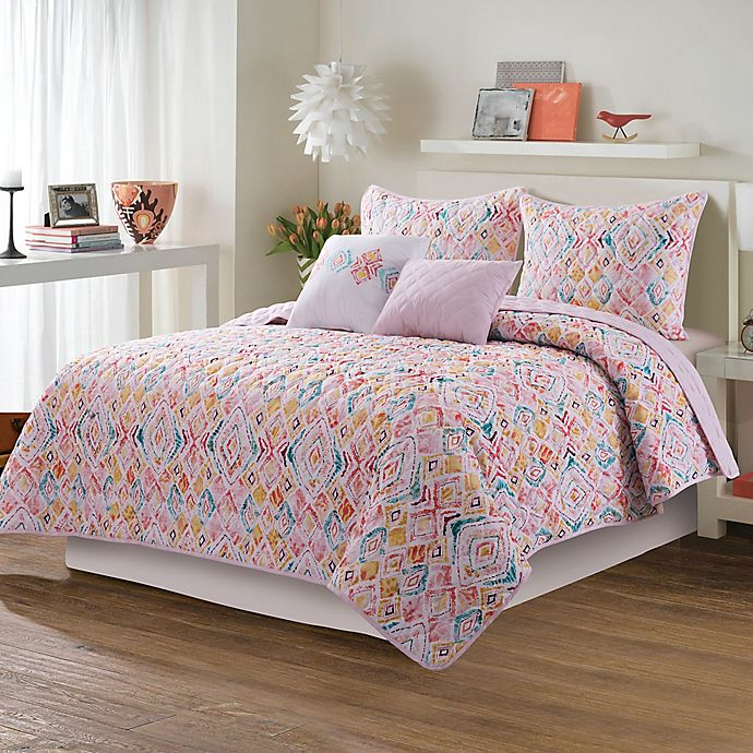 Alternate image 1 for Sara B. Paloma 5-Piece Quilt Set