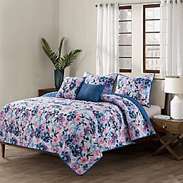 Rose 5-Piece Quilt Set