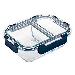 Core Kitchen™ TruDivide Glass Food Storage Container in Navy