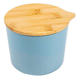 Core Kitchen™ Bamboo Fibers Canister in Light Blue