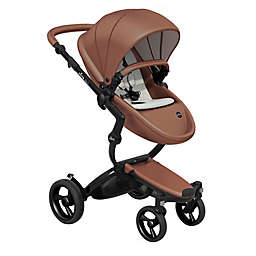 Mima® Xari Black Chassis Stroller with Black Wheels