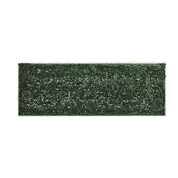 """VCNY Home 60"""" x 22"""" Butter Shine Chenille Noodle Bath Runner in Green"""