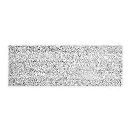 "VCNY Home 60"" x 22"" Butter Shine Chenille Noodle Bath Runner in White"